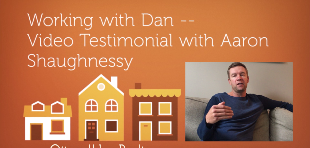 Working with Dan -- Testimonial with Aaron