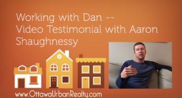 Working with Dan -- Testimonial with Aaron