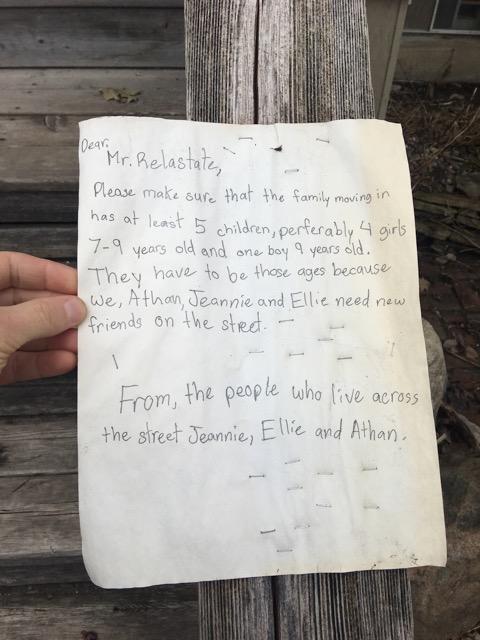 Mr Realastate Letter