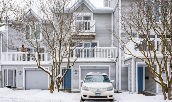 Crystal Beach Townhome -- SOLD